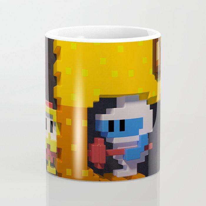 Inside Dig Dug Coffee Mug