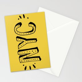 NYC lettering series: #2 Stationery Cards