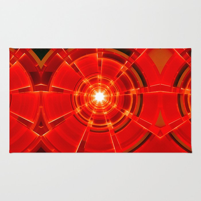 Red Scope Rug
