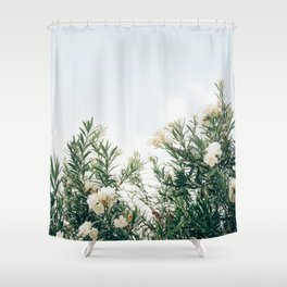 Neutral Spring Tones Shower Curtain