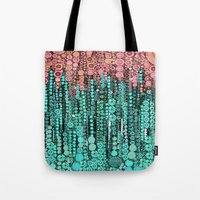 lorde Tote Bags featuring :: Driving Cadillacs In Our Dreams :: by :: GaleStorm Artworks ::