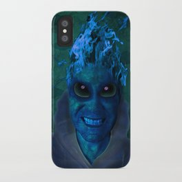 BLUE PLANET ALIEN (Us And Them) iPhone Case