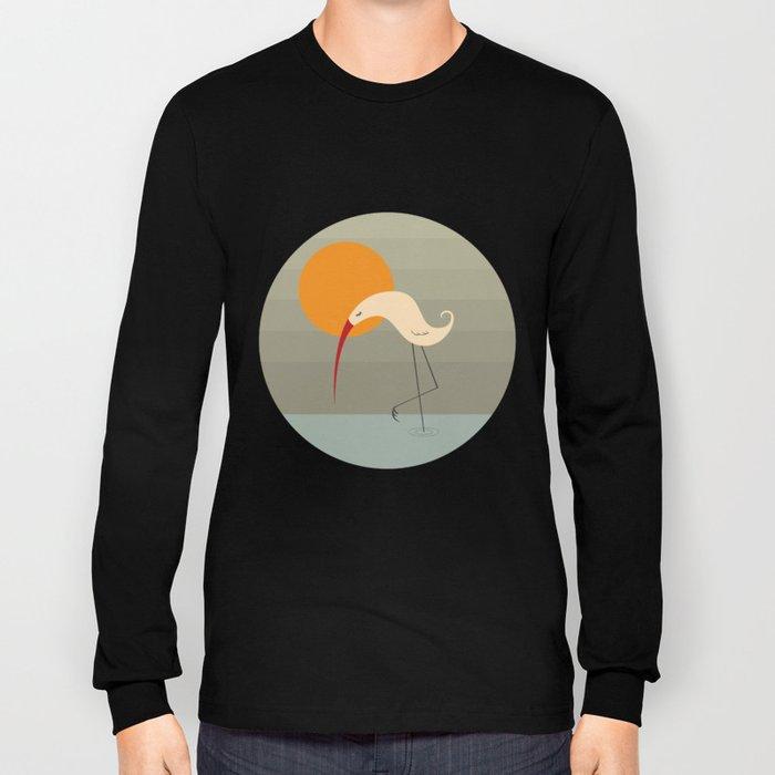 Bird Vertical Long Sleeve T-shirt