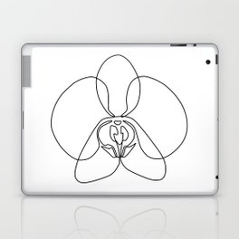 One-Line Orchid Laptop & iPad Skin