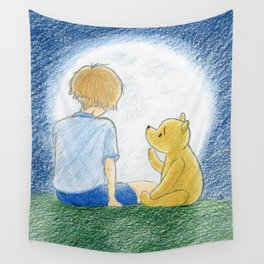 How old shall I be then? Wall Tapestry