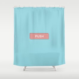 Push Shower Curtain