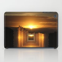 jazzberry iPad Cases featuring Catch a little sunrise and save it for a rainy day by Donuts