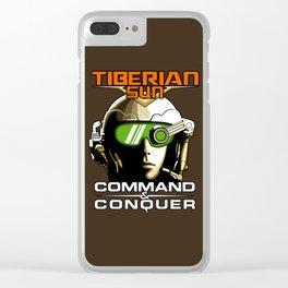 Tiberian Sun Commander Clear iPhone Case