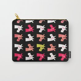 Pop Of Pink Unicorn Carry-All Pouch