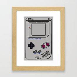 Handheld Classic Framed Art Print