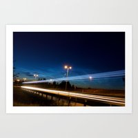 European Highway 6 Art Print