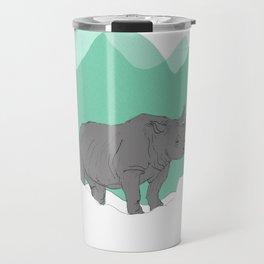 Floating Rhino Travel Mug