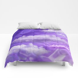 """""""Violet pastel sweet heaven and clouds"""" Comforters"""