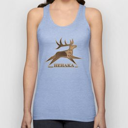 Elk Spirit (Brown) Unisex Tank Top