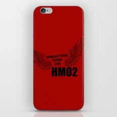 Spread your wings and HM02 iPhone & iPod Skin