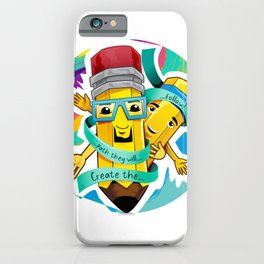 Pops and Son iPhone Case