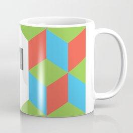 """Monogram Arabic Letter """"M"""" Coffee Mug"""