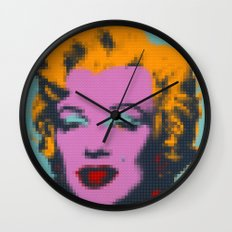 Lego : Marilyn Mönröe Wall Clock