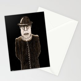 The mean priest Stationery Cards