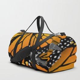 MONARCH BUTTERFLIES MONTAGE NATURE DESIGN Duffle Bag