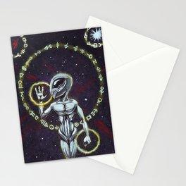 Otherworldly Chakras Stationery Cards