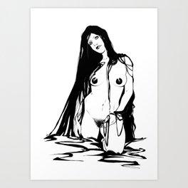 Morochas 3 Art Print