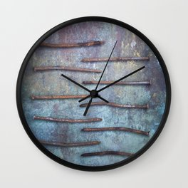 Ten Nails Wall Clock