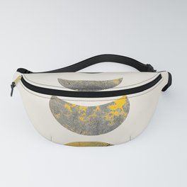Abstraction_Lunar_Eclipse_Minimalism_001 Fanny Pack