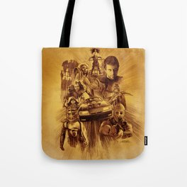 Homage to Mad Max Tote Bag