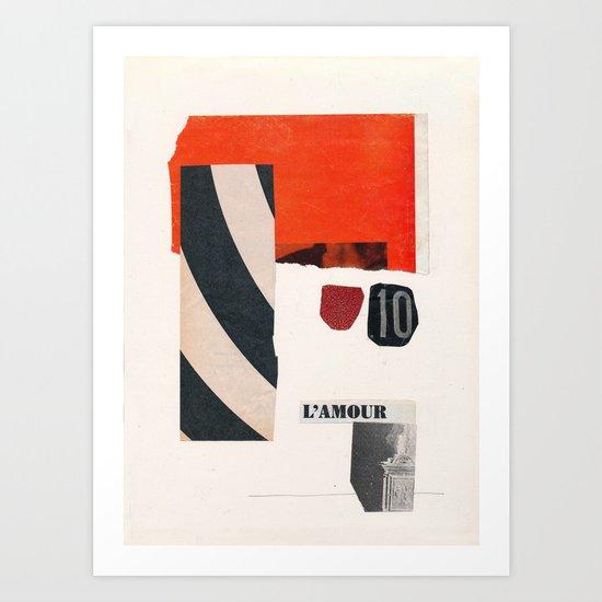 Aus der Tiefe des Raumes Art Print