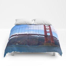 Golden Gate Bridge San Francisco Ca Comforters