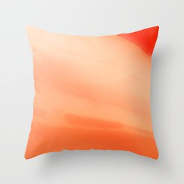 Radiant December Throw Pillow