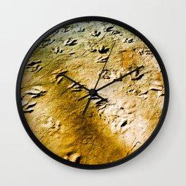 Eubrontes Giganteus Wall Clock