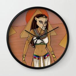 Sekhmet Wall Clock