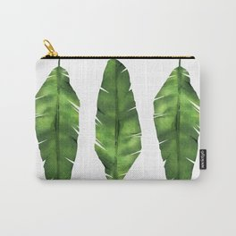 Banana leaf. Watercolor Illustration. Carry-All Pouch