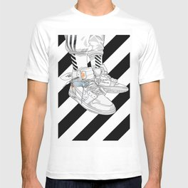 Jordan 1 Off White Poster T-shirt