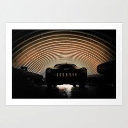 Hangar Art Print