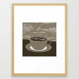 GOOD MORNING 06 Framed Art Print