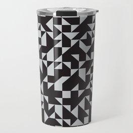 Girard Inspired Geometric Pattern Travel Mug