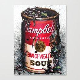 Cream of Vegetable Canvas Print
