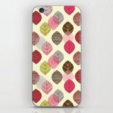 Linear leaves iPhone & iPod Skin