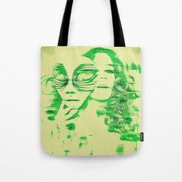 Slip of the Mask Tote Bag