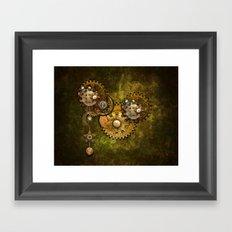 Clock Wall 2 Framed Art Print