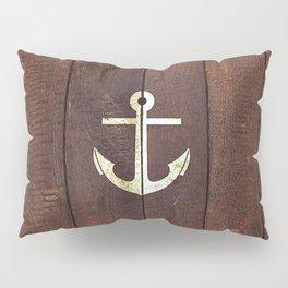 Anchor Wood Pillow Sham