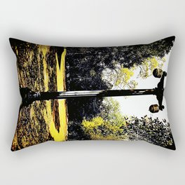 Lamp Post 953 Rectangular Pillow