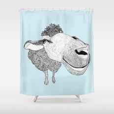 Sheepy Shower Curtain