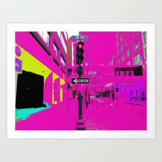 See life in color Art Print