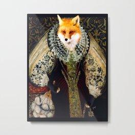 Elizabeth I Fox Metal Print
