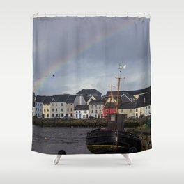 Galway Rainbow Shower Curtain