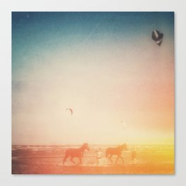 Beach Horses  Canvas Print